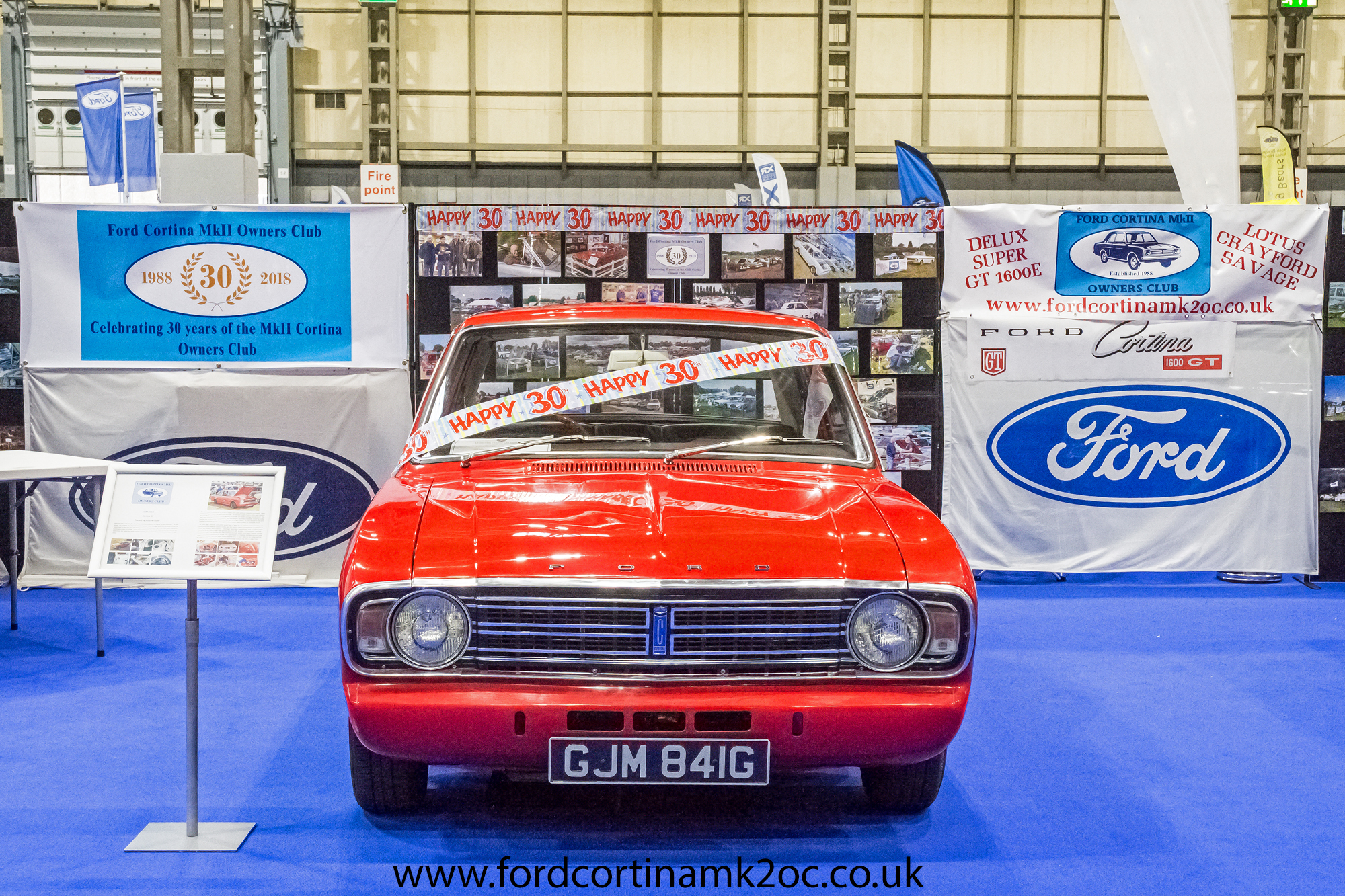 The Lancaster Classic Motor Show - Ford Cortina Mk2 Owners